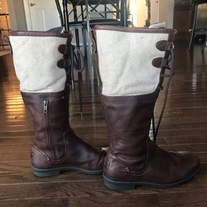 UGG lace up Boots